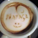 """Natasa"" Coffee Cup"