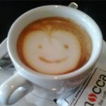 """Smile"" Coffee Cup"