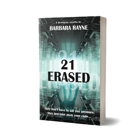 21Erased Book Cover Design by Marraii