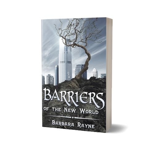Barriers Book Cover Design by Marraii