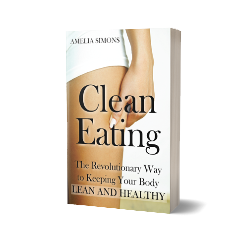 CleanEating Book Cover Design by Marraii