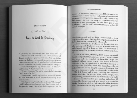 Print Layout: Fiction chapter sample