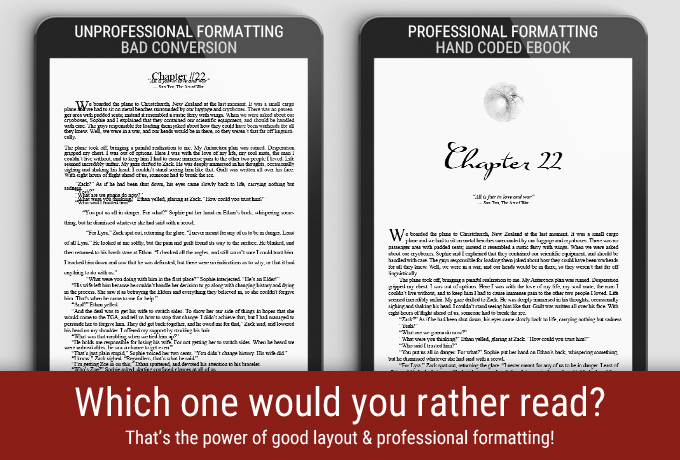 Professional and Unprofessional Formatting Difference