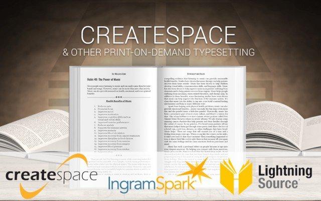 Createspace Formatting Service