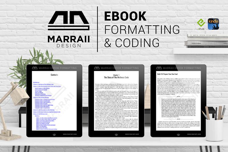 Quality Epub & Mobi Formatting and Coding – Marraii Design