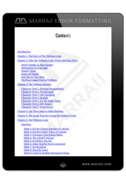 Epub Formatting – Custom Layout – Marraii Design