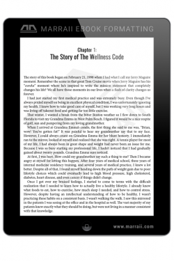 Epub Formatting – Custom Layout – Marraii Design