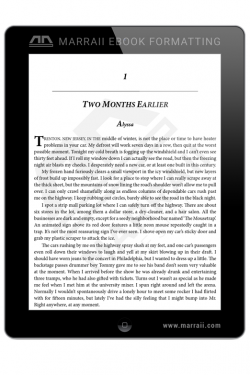 Epub Formatting – Drop Caps – Marraii Design