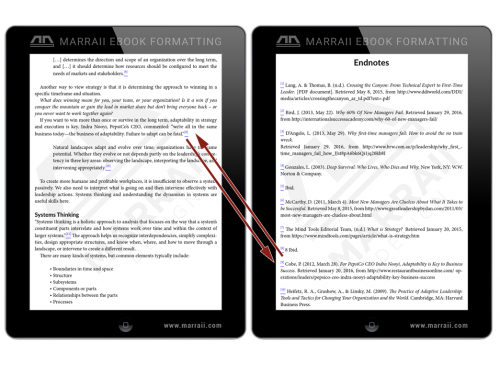 Epub Formatting – Endnotes – Marraii Design