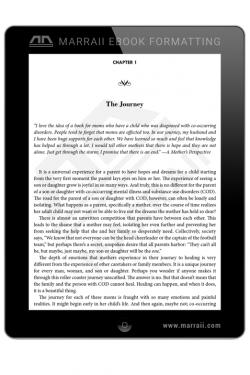 Epub Formatting – Fiction – Marraii Design