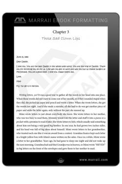 Epub Formatting – Embedded Fonts – Marraii Design