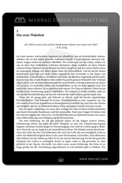 Epub Formatting – Languages – Marraii Design