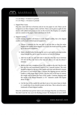 Epub Formatting – Lists – Marraii Design