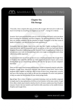 Epub Formatting – Simple Layout – Marraii Design
