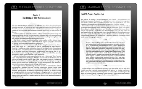 EBOOK FORMATTING
