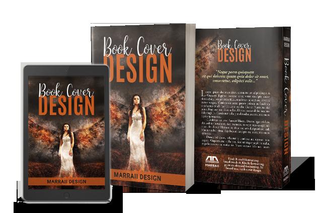 Marraii Design custom book cover design for eBook and print edition