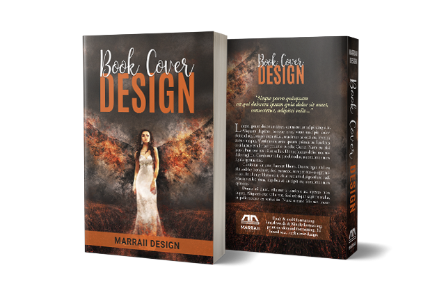 Book Cover Design - PRINT Package - Paperback/Hardcover