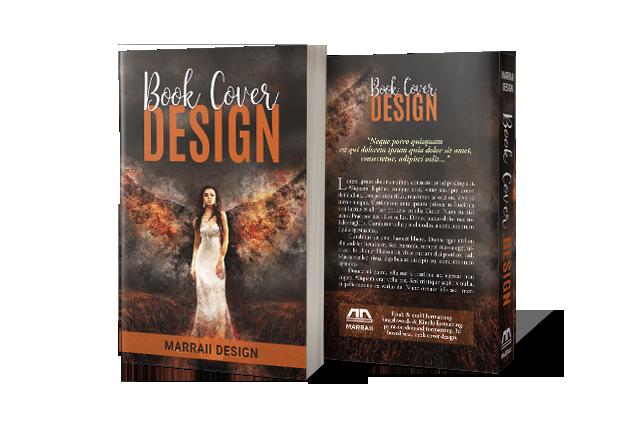 Marraii Design custom book cover design for print edition