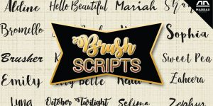 21 Brush Script Fonts for Your Headings