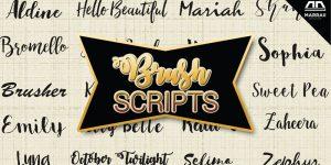 21 Brush Script Fonts for Your Headings