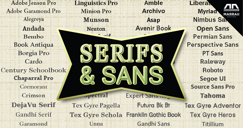 36 Serif and Sans-serif Fonts for Your Paragraphs and Headings