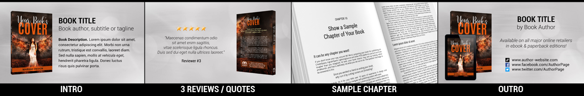 Book Promo Video Stills