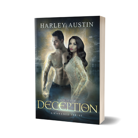Deception Book Cover Design by Marraii