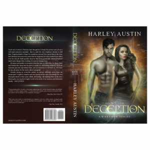 Deception Paperback Cover Design by Marraii