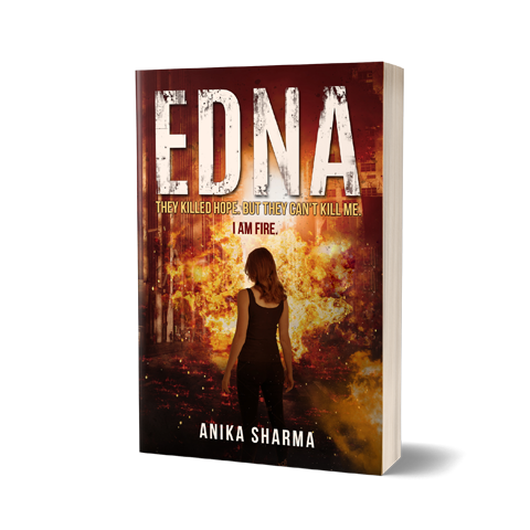Edna Book Cover Design by Marraii