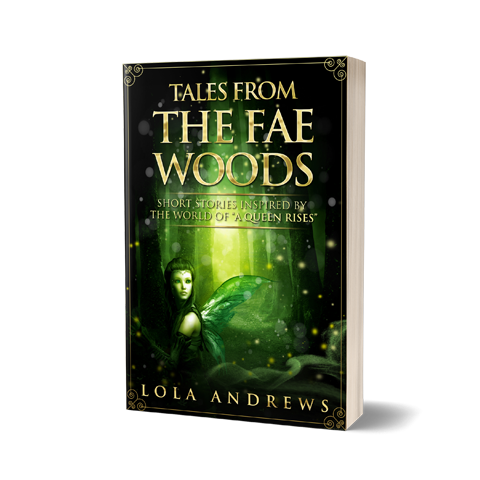 FaeWoods Book Cover Design by Marraii