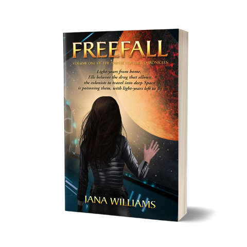 Freefall Book Cover Design by Marraii