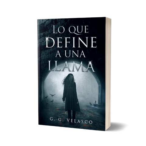 Llama Amazon Book Cover Design by Marraii