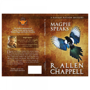 Magpie Createspace Paperback Cover Design by Marraii