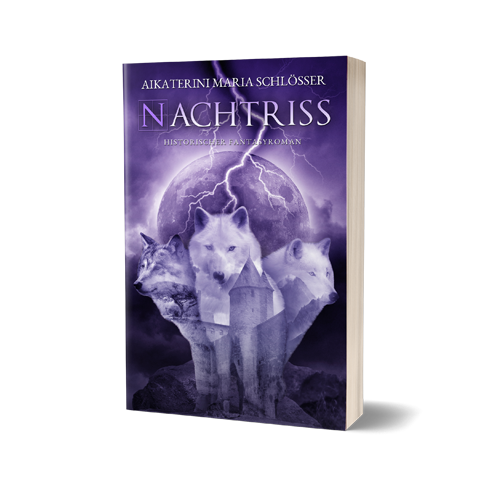 Nachtriss Book Cover Design by Marraii