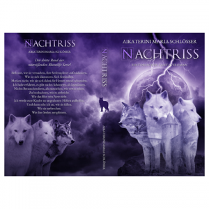 Nachtriss Paperback Cover Design by Marraii
