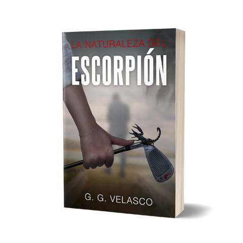 Escorpion  Book Cover Design by Marraii