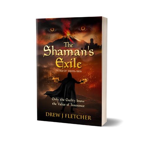 Shamans Book Cover Design by Marraii