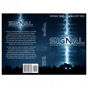 Signal Createspace Paperback Cover Design by Marraii