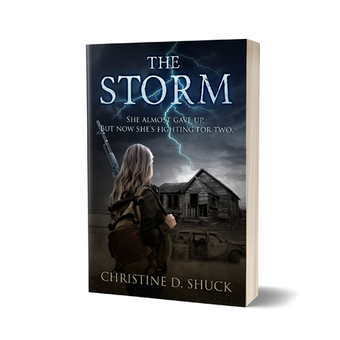 Storm Book Cover Design by Marraii