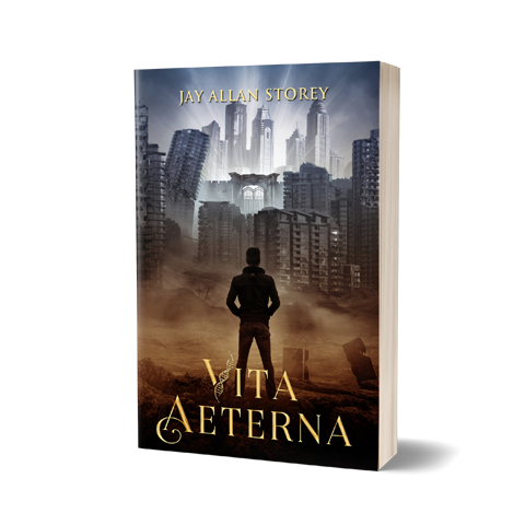VitaAeterna Book Cover Design by Marraii