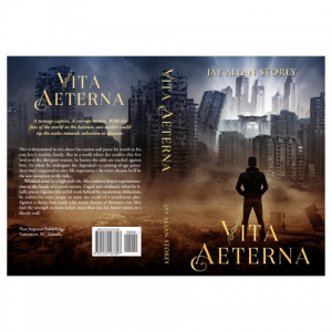 VitaAeterna Paperback Cover Design by Marraii