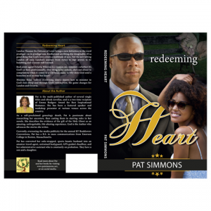 RedeemingHeart Paperback Cover Design by Marraii