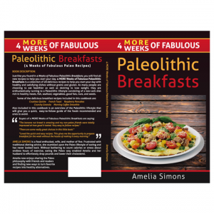 PaleolithicBreakfasts Paperback Cover Design by Marraii