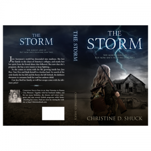 Storm Paperback Cover Design by Marraii